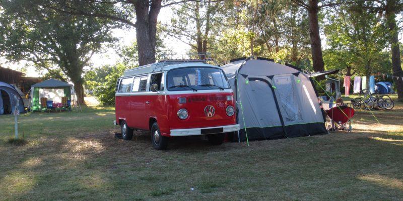 Camping La Prairie - Aire Naturelle à Carcans (33)